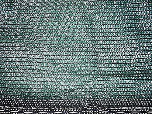 AGRIPRO Toile d'ombrage coupe-vent et brise-vue, couleur vert, couverture à 90 %, 4 x 10 m