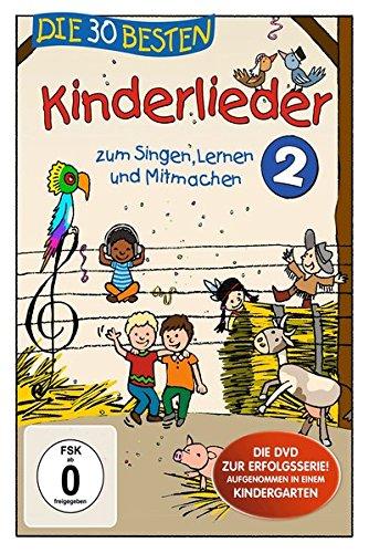 Die 30 besten Kinderlieder 2 - Die DVD - zum Singen, Lernen und Mitmachen