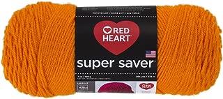 Red HeartSuper Saver Yarn, Pumpkin