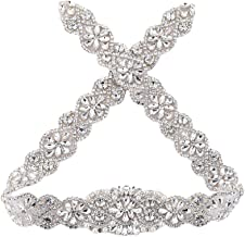 sequin belt for wedding dress