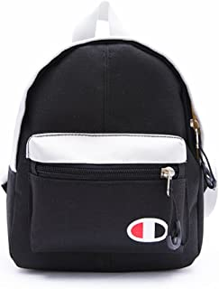 Leng QL Personality Backpacks Leisure Travel Parent-Child Backpack Children's Schoolbag(Small Size,Black)