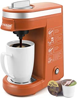 orange coffee maker