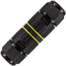 LEDKIA LIGHTING Connector Waterdichte kabelverbinding 3 contacten IP68 T 0,5-4,0 mm² Zwart