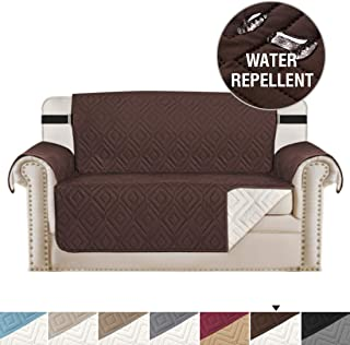 H.VERSAILTEX Quilted Sofa Protector Pet Friendly Reversible Furniture Sofa Protector for Loveseat, Features Protect from Pets,Seat Width Up to 46