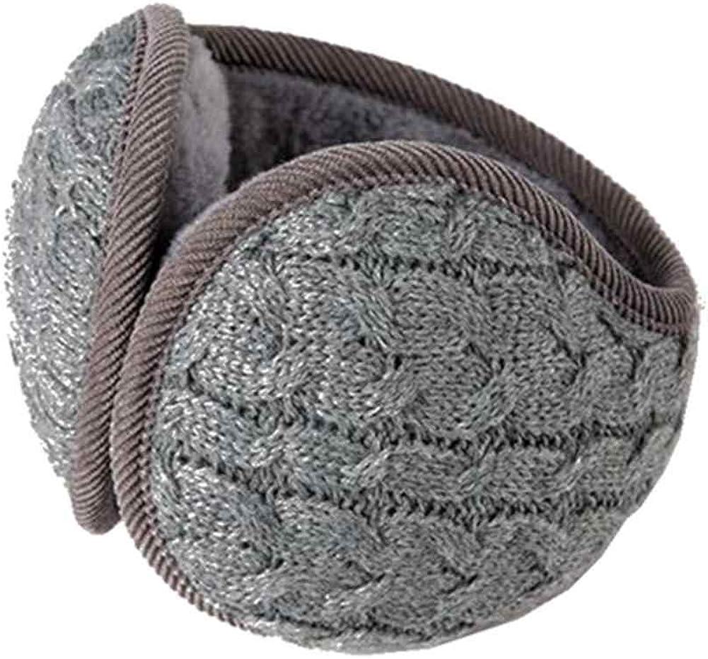 Women Winter Ear Muffs Warm Earmuffs Ear Warmers Earlap Fleece Behind the Head