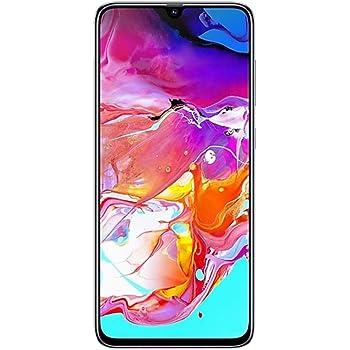 Samsung Galaxy A70 - Teléfono inteligente, 128GB/6GB SM-A705M/DS 6.7 pulgadas HD+ Infinity-U 4G/LTE desbloqueado de fábrica, versión internacional, 128 GB, Blanco