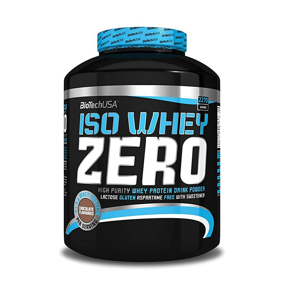BioTech USA Iso Whey Zero - Cookies & Cream - 2.27kg by BiotechUSA