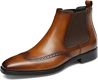 leather chelsea boots mens