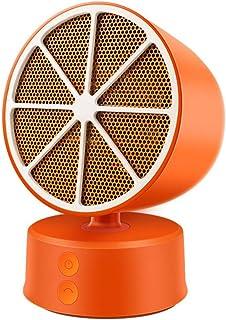 Radiador eléctrico MAHZONG Mini Calentador, soplador de Aire Caliente del hogar, Escritorio pequeño, Puede sacudir la Cabeza