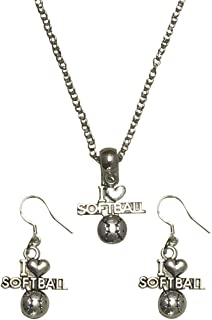 Best i love softball necklace Reviews