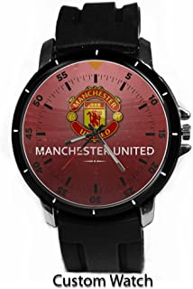 Premier League Manchester United Football Club Custom Watch