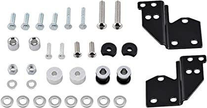Luggage Detachables Front Docking Hardware Set Compatible with Harley HD Touring Road King Electra Glide 97-08