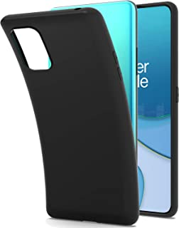 CoverON Slim TPU for OnePlus 8T Case/OnePlus 8T+ Plus 5G Phone Case, Flexible Soft Cover - Black