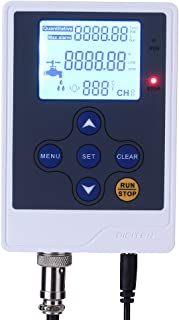 DIGITEN Water Liquid Flow Rate Volume Digital Display Flowmeter Quantitative Controller Counter Liter Gallon