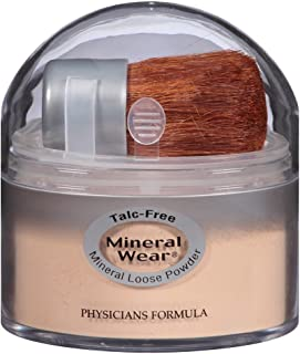 Physicians Formula Mineral Wear Loose Powder, Translucent Medium, 0.49 Ounce