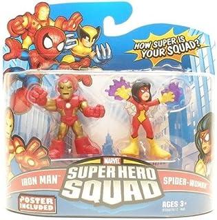 Marvel Superhero Squad Series 15 Mini 3 Inch Figure 2-Pack Iron Man and Spider-Woman