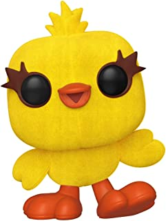 Funko Pop! Disney: Toy Story 4 - Ducky (Flocked) Exclusive