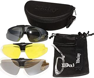 7891ddbce5 Nuevo Daisy C1 militar táctica deporte gafas gafas al aire libre 3 lentes  gafas de sol