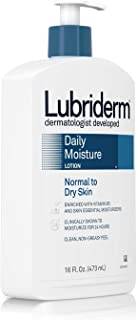 Lubriderm Daily Moisture Lotion Normal To Dry Skin, 16 Ounce