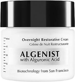Algenist Overnight Restorative Cream - PM Facial Treatment with Watermelon & Apple Extract - Non-Comedogenic & Hypoallerge...