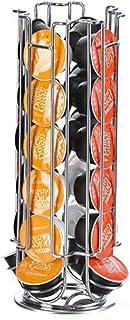 Design moderne Affichage de placage Capsule Capsule Porte-guichets Robinet Titulaire de bosses de rangement pour 24 capsul...