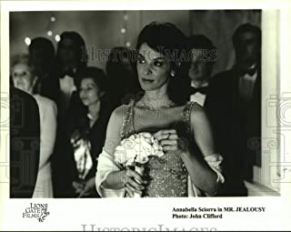 Historic Images - Press Photo Actress Annabella Sciorra in Mr. Jealousy Movie
