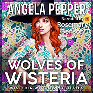 Wolves of Wisteria                   By:                                                                                                                                 Angela Pepper                               Narrated by:                                                                                                                                 Rosemary Benson                      Length: 11 hrs and 26 mins     44 ratings     Overall 4.5