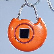 Vingerafdruk Hangslot Vingerafdruk Intelligente Hangslot Beveiliging USB Smart Travel Lock voor Outdoor, Gym, School, Kas...