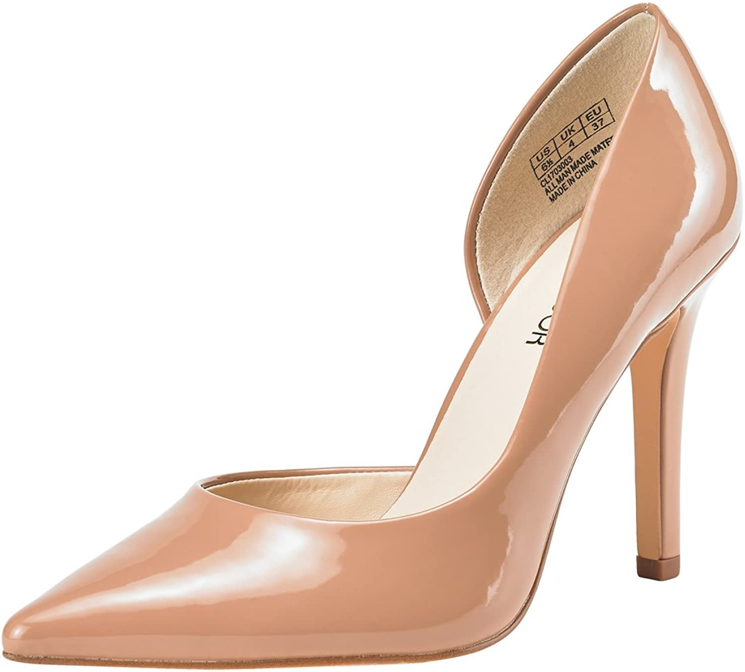 JENN ARDOR Stiletto High Heel shoes for Women  Pointed, Closed Toe Classic Slip On Dress Pumps
