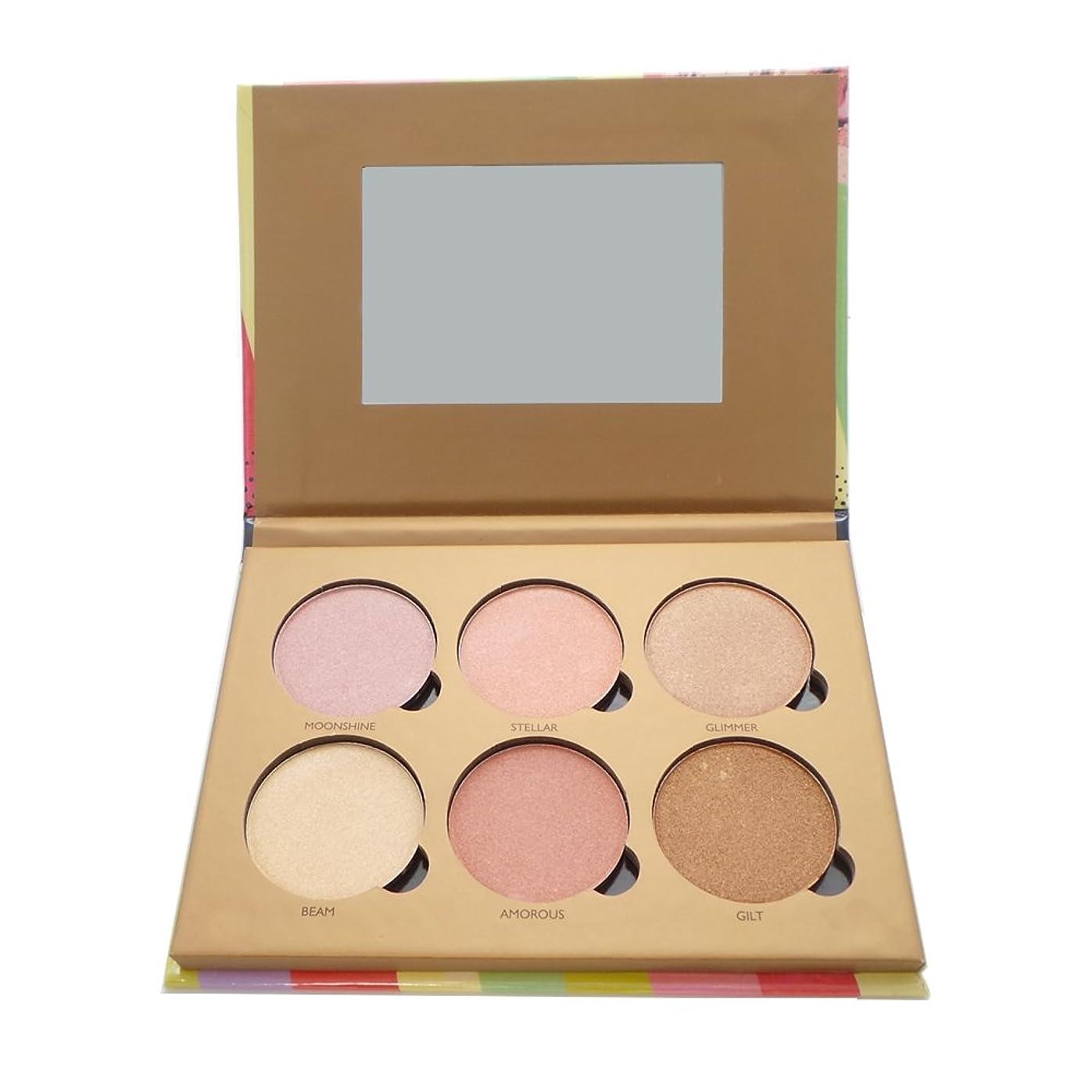 市の中心部階段普遍的なOKALAN Glowing Palette Shimmers Kit A (並行輸入品)