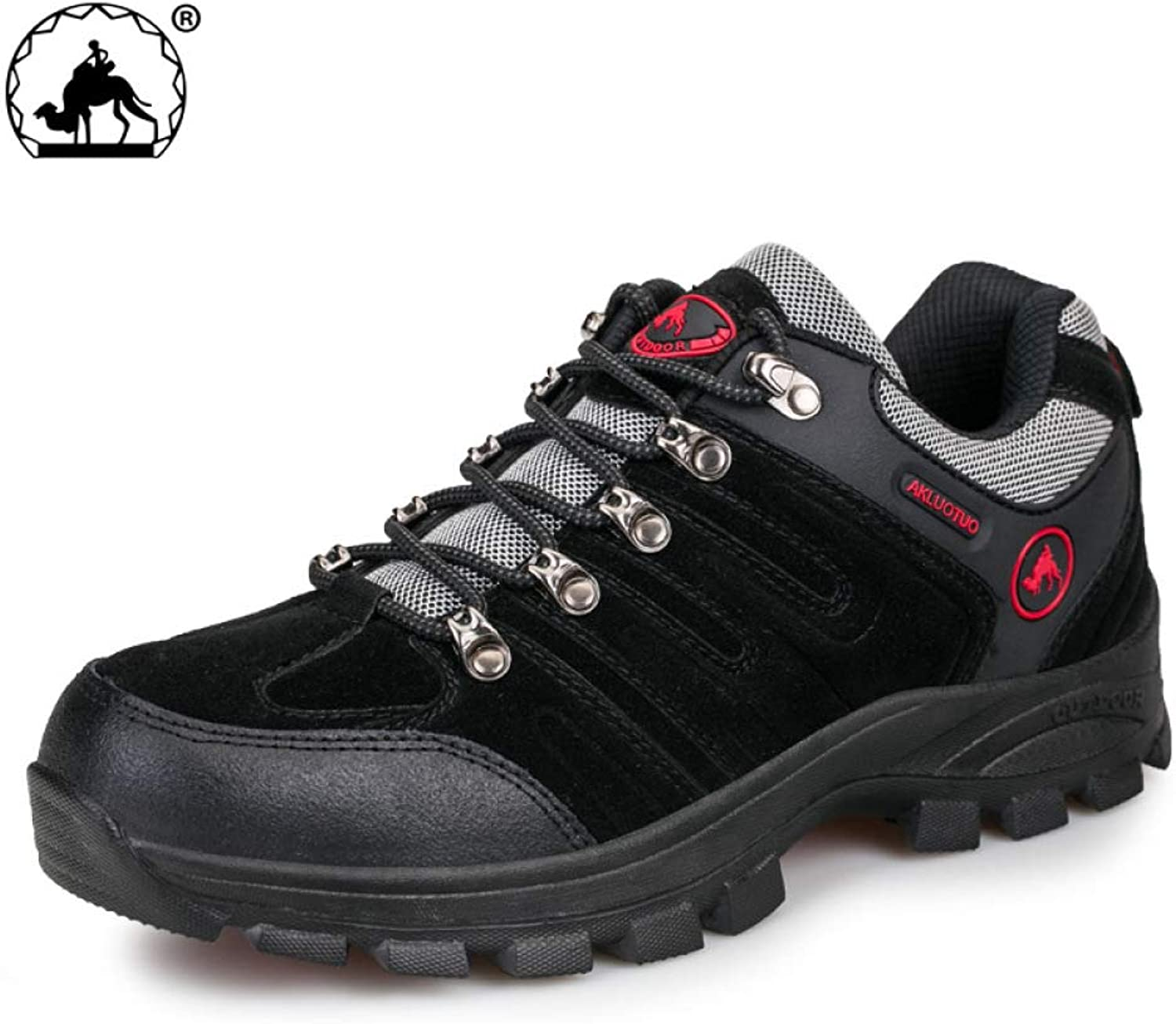 Casual Spring And Autumn Hiking Low-Top Sneakers, Outdoor shoes, Men'S Comfortable Wear-Resistant Hiking shoes, Men'S shoes