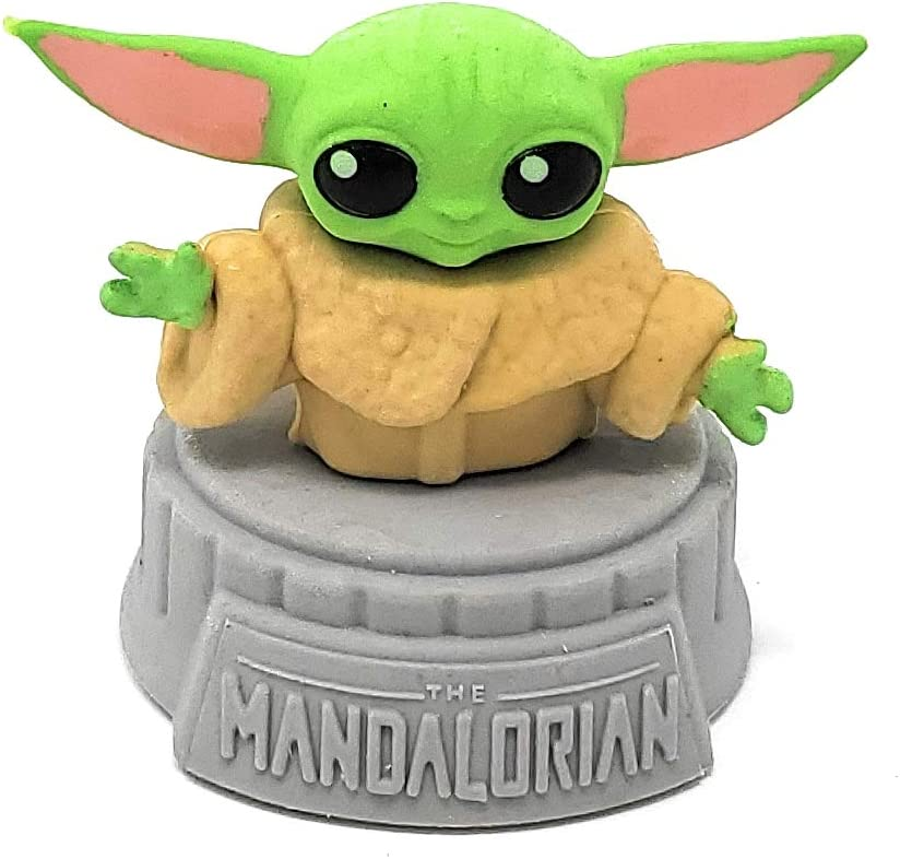 Disney Star Wars Mandalorian The Child Yoda Eraser Figure Figurine