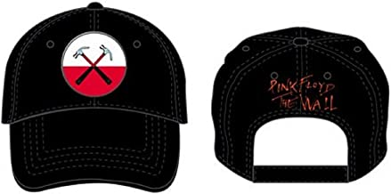 Pink Floyd Classic Rock and Roll Music Band Adjustable Baseball Cap (The Wall Hammers)