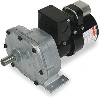 Dayton 1LPL5 AC Gear Motor, 6 RPM, TEFC, 115/230V