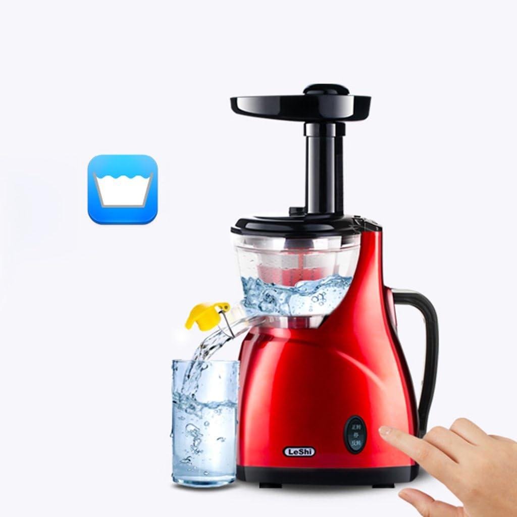 SHI XIANG SHOP Juicer automático de la casa Mini juicer Multi-función (Color : Rojo) Pink