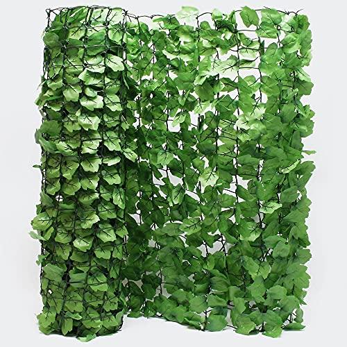 Wiltec Sichtschutznetz Blätteroptik 300cm x 150cm Mauerabdeckung Sichtschutz Plane Netz