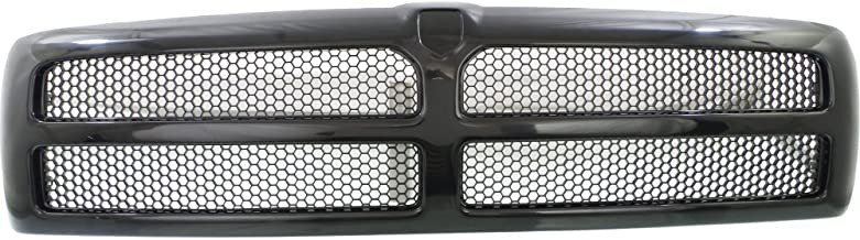 Grille for Dodge Full Size P/U 94-02 Honeycomb Insert Textured Black