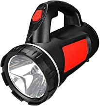 LED Outdoor Flashlight, USB Charging, Strong Light, Searchlight, Light Portable Lamp, Forest Lighting