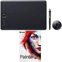 Wacom Intuos Pro Medium Pen Tablet PTH660 Bundled with Corel Painter 2020 Academic
