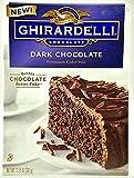 Ghirardelli Dark Chocolate Premium Cake Mix 12.75 oz ( 2 Pack)