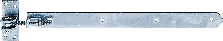 Rolle 16 mm // 600 x 45 mm // 1 Stk. feuerverzinkt gerade Ladenband Abschluss abgerundet