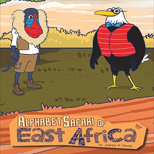Alphabet Safari of East Africa audiobook cover art