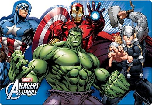 Ciao 33909Marvel Avengers Mighty Mantel Plástico, Multicolor