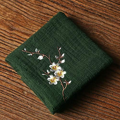 Theedoeken Katoen, Keuken Handdoeken en vaatdoeken Sets,Schotel Handdoeken 0 Donker Groen