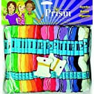 DMC Prism Craft Thread Jumbo Pack, Multicolor, 105-Pack
