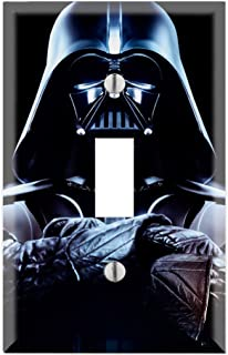 Single Toggle Wall Switch Cover Plate Decor Wallplate - Star Wars Darth Vader