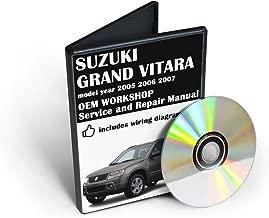 Suzuki Grand Vitara, Service & Repair Manual [CD-ROM] (fits year: 2005, 2006, 2007)