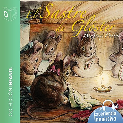 El sastre de Gloucester [The Tailor of Gloucester] cover art