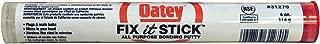 Oatey 31270 Fix-It Multi-Purpose Epoxy Putty, 4 Oz, Box, Sulfurous, Solid, White/Beige