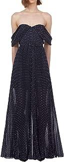 SELF-PORTRAIT Luxury Fashion Womens SP22108JPNAVY Blue Dress   Fall Winter 19